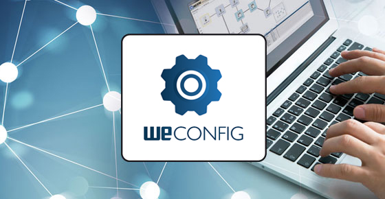 WeConfig Network Configuration Management Tool.