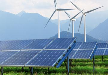 Data communications for renewable power generation