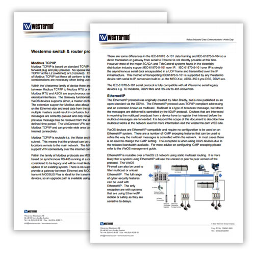 Whitepaper on industrial protocols MODBUS, HART, Profinet.