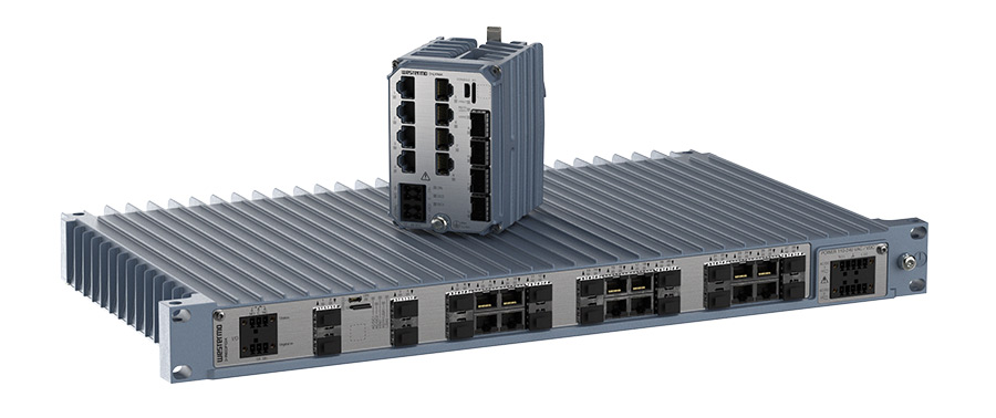 Next Generation industrial Ethernet switch platform by Westermo.