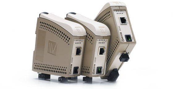 Ethernet extenders for industrial network applications manufactured by Westermo.
