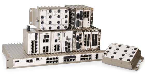 Managed Industrial Layer 3 Ethernet Switches by Westermo.