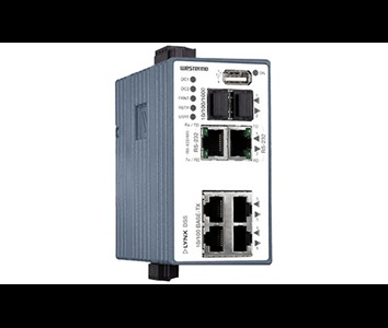 Westermo Lynx L108-F2G-S2-12VDC Managed Device Server Switch.