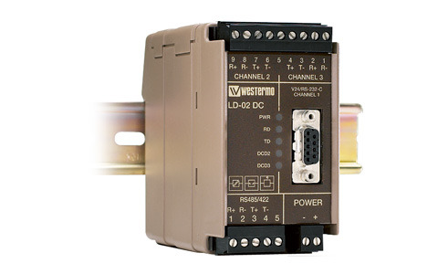 Line sharing modem LD-02 by Westermo