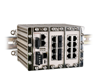 19 port Managed Gigabit Ethernet Switch RFI-119-F4G-T7G by Westermo.