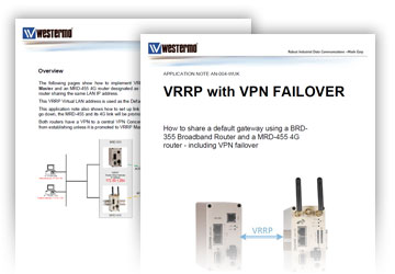 vrrp application note by westermo
