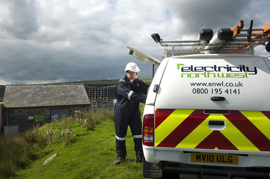 Electricity North West field engineer.