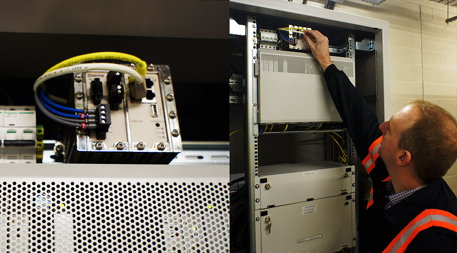 Wolverine Ethernet extender inside ENW facilities