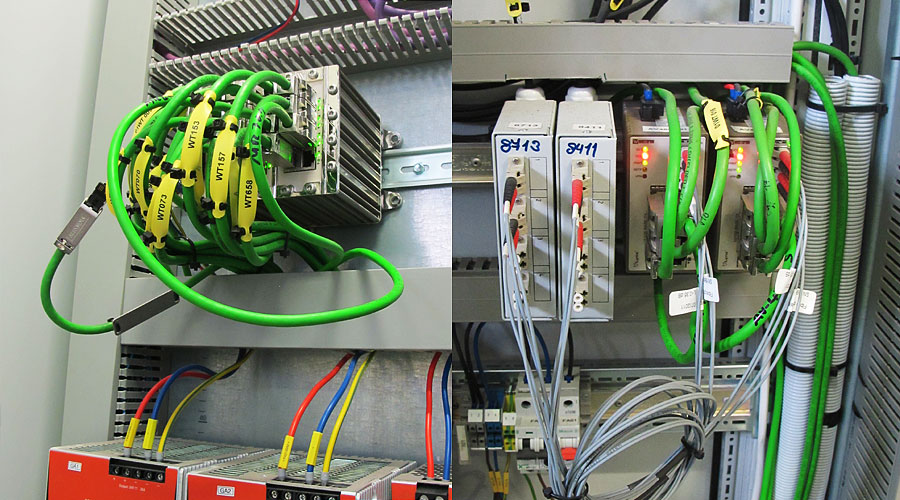Westermo Ethernet switches in industrial control network at Unipetrol plant
